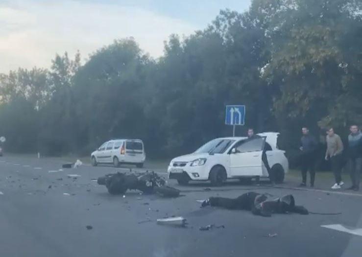 Авария на трассе: в Ростовской области погиб мотоциклист