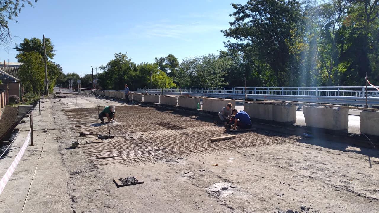 В Таганроге начат ремонт второй части моста на Шевченко