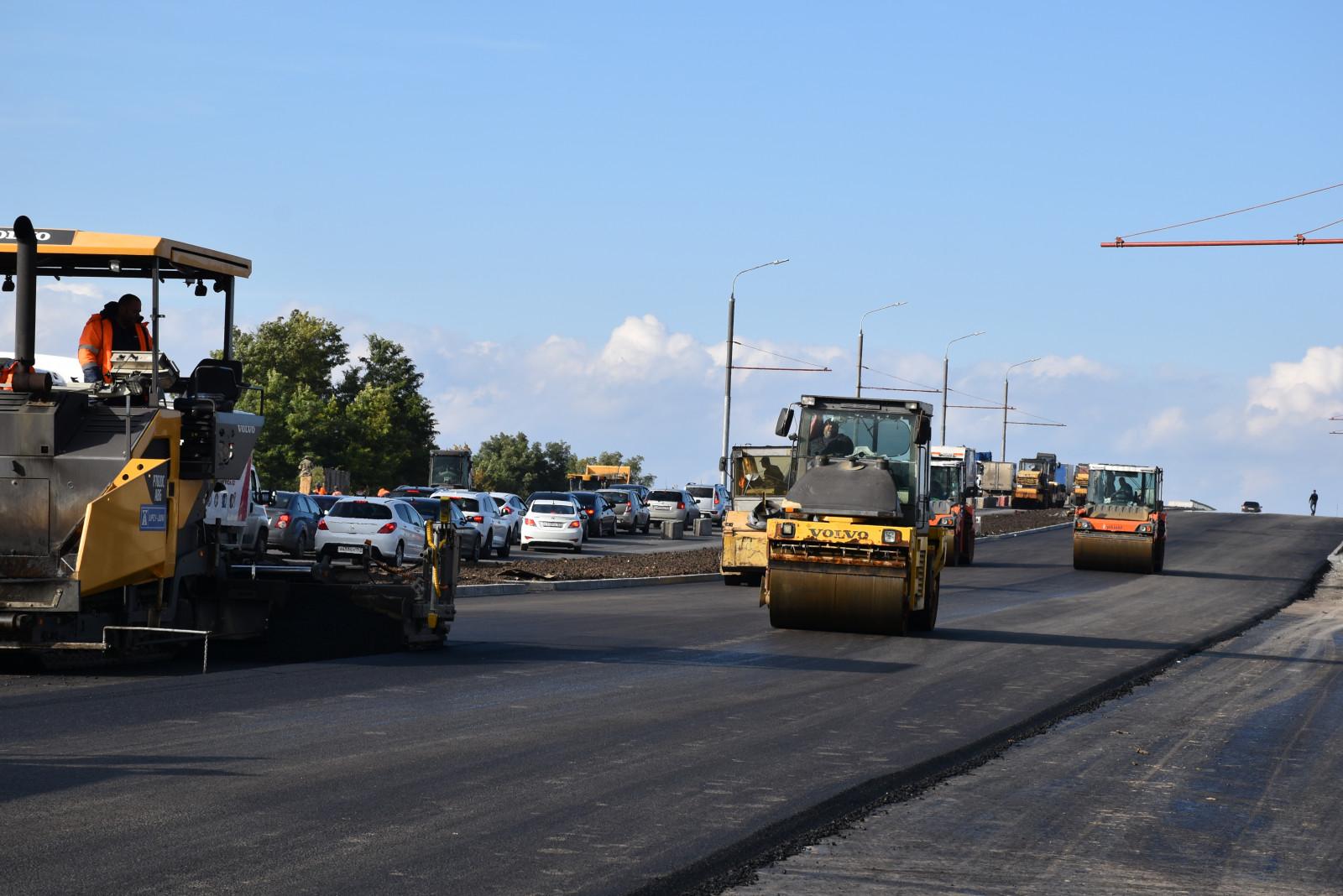 Мост на ул. Малиновского планируют открыть раньше срока
