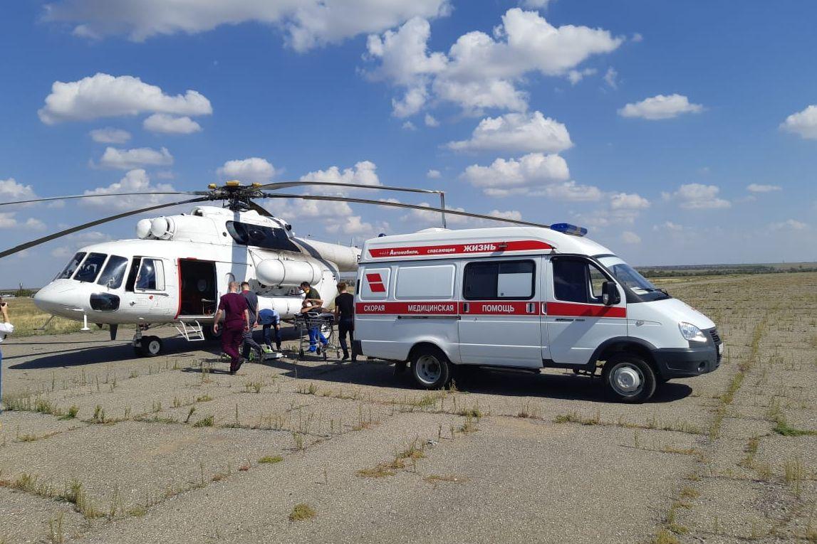 В Ростовской области появился вертолет санавиации