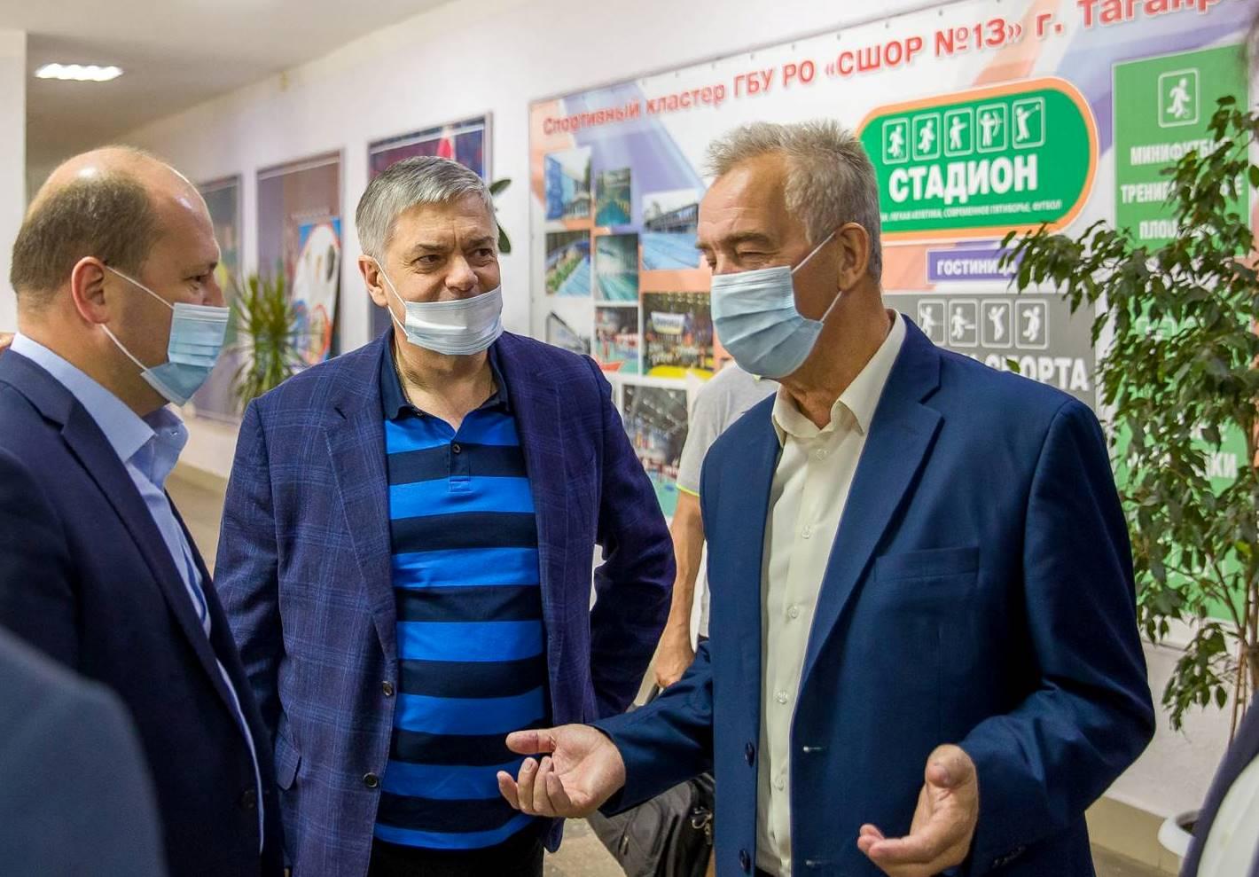 Таганрог посетил  президент Федерации гандбола России