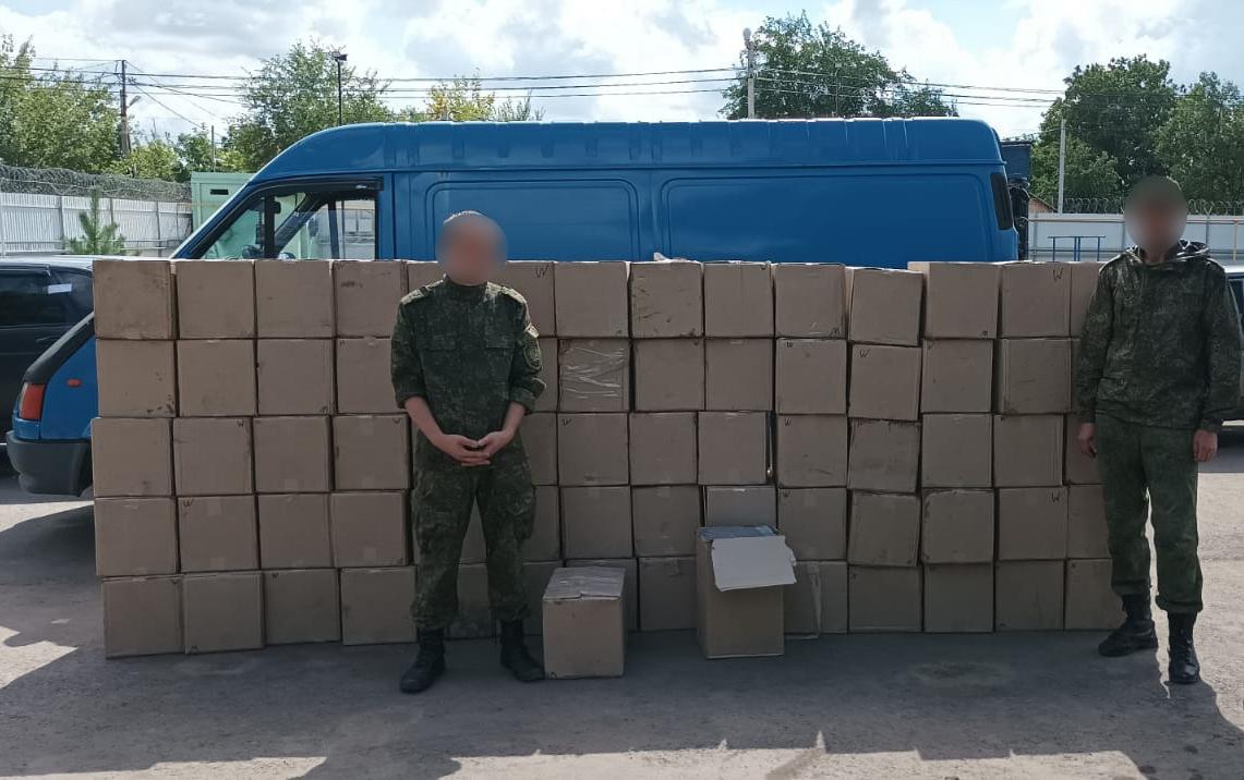 Контрабанда на 5 млн рублей: пограничники изъяли сигареты