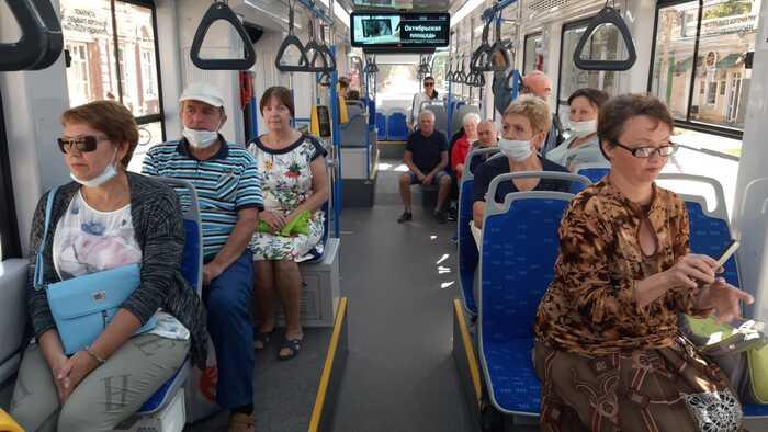 8 тысяч пассажиров за день перевезли трамваи в Таганроге