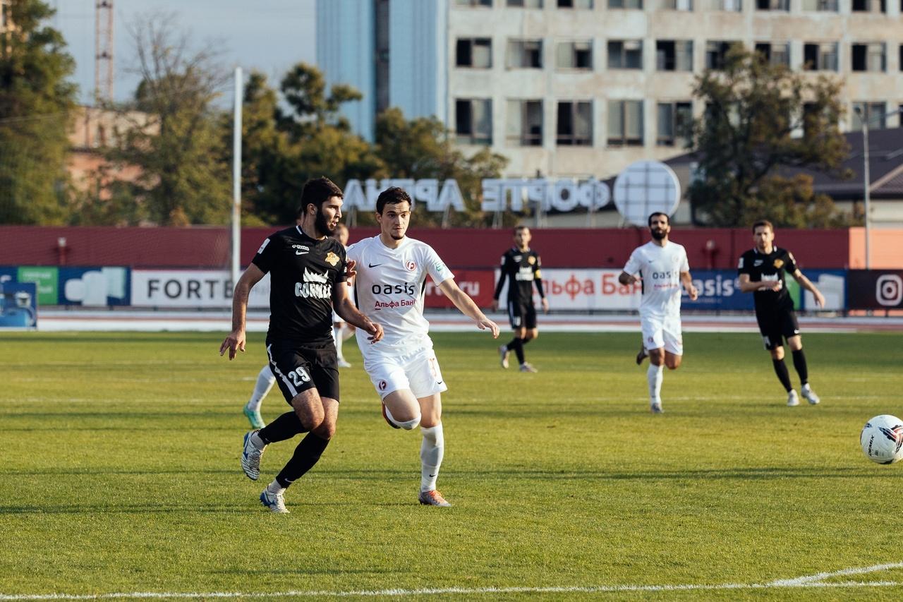 ФК «Форте» одержал седьмую победу во втором дивизионе ФНЛ