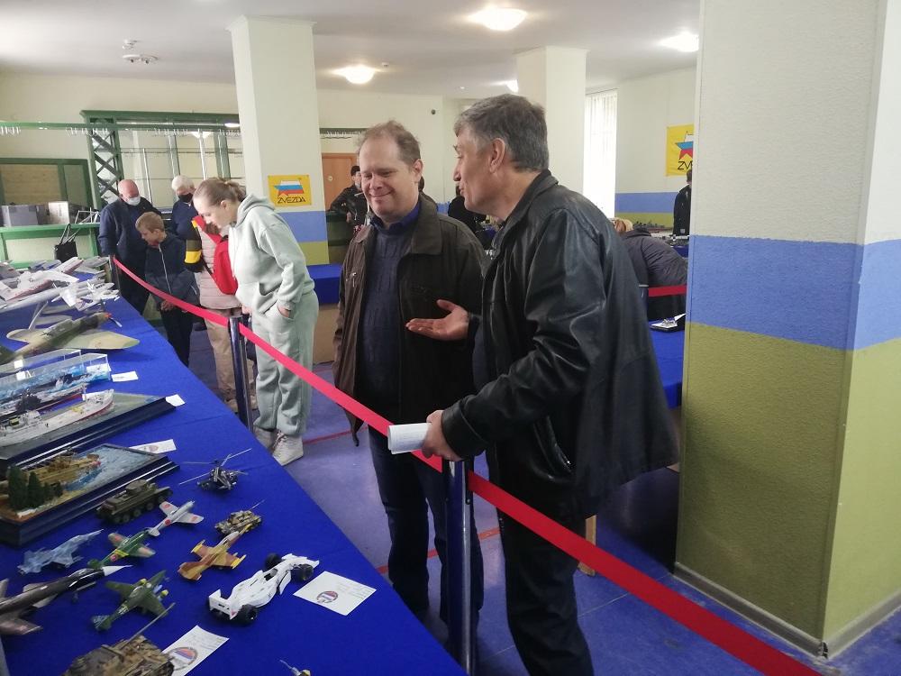 В СКЦ «Приморский» Таганрога прошла выставка стендовых моделей