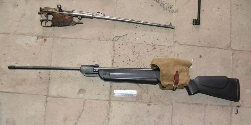 В Ростовской области у пенсионера изъяли оружейный арсенал