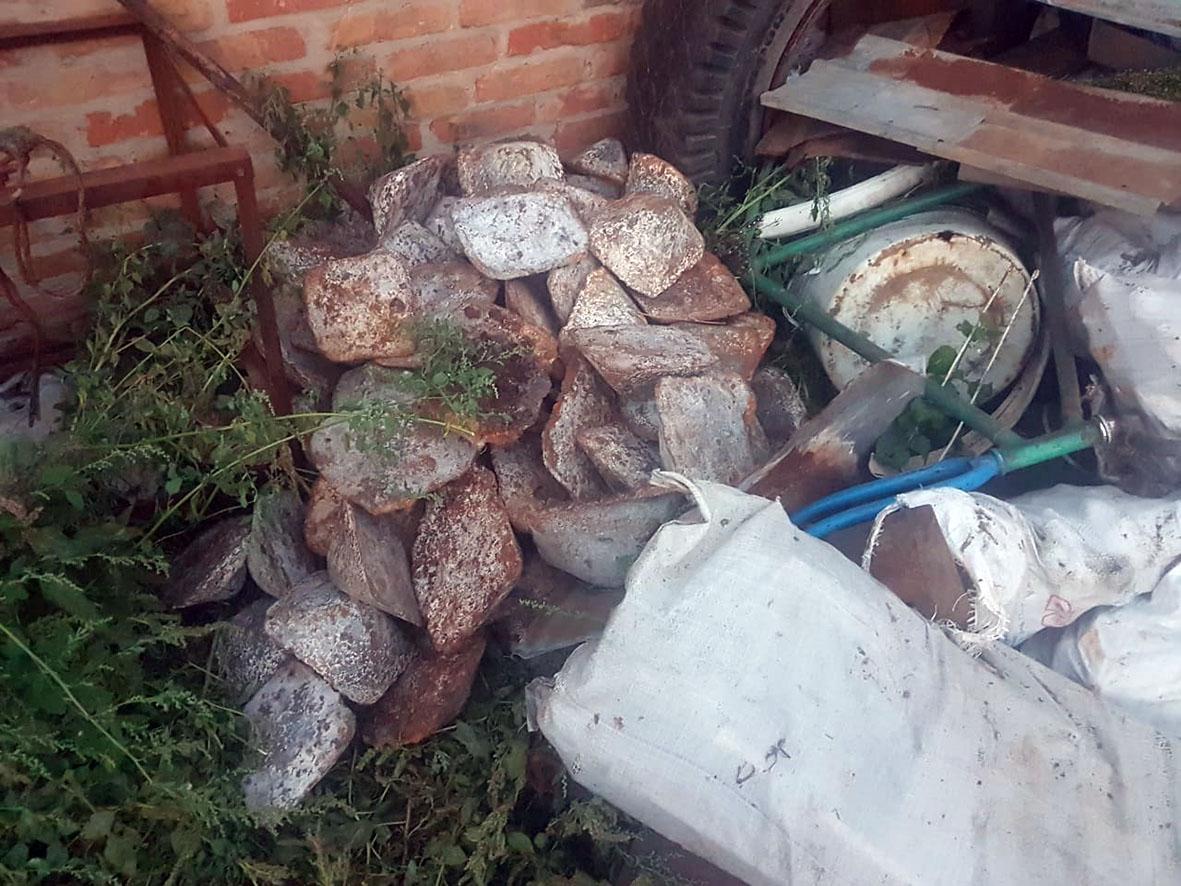 Пять тонн чугуна украл из вагона житель Дона