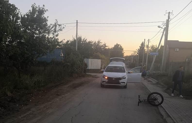 Под Таганрогом машина сбила ребенка на велосипеде