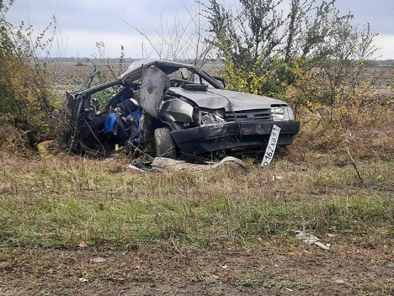 В ДТП на донской трассе мать потеряла троих сыновей