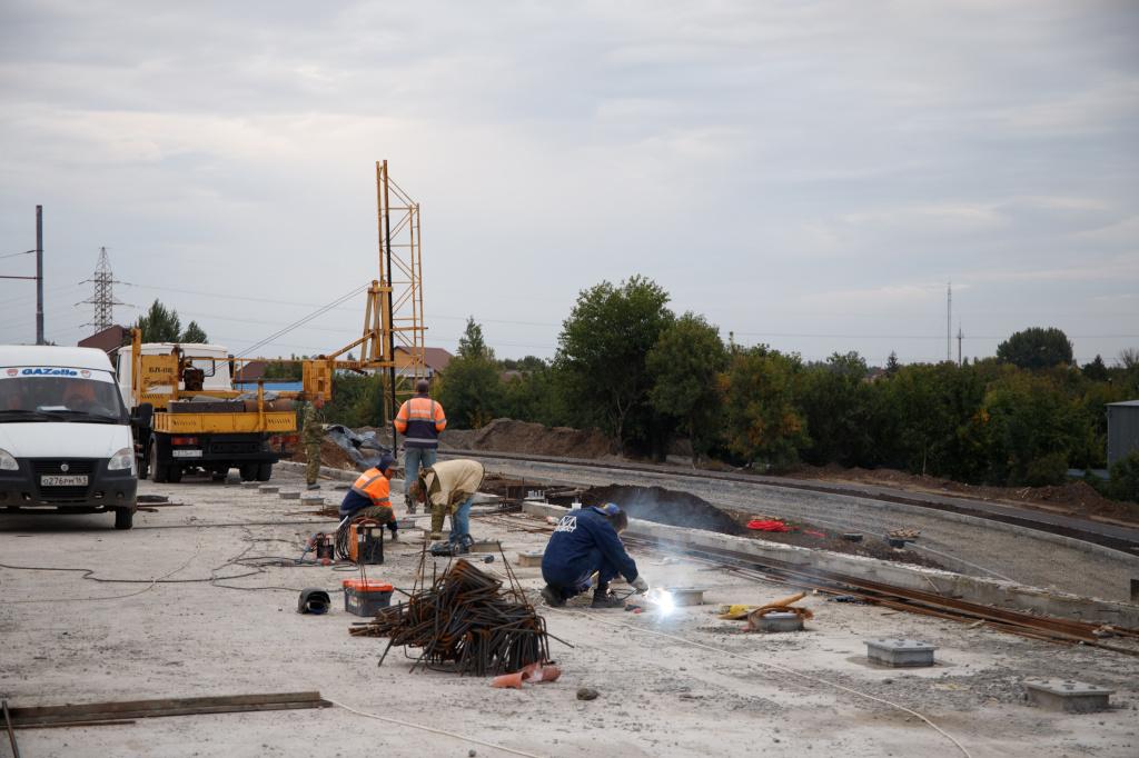 Реконструкция моста на ул. Малиновского завершается