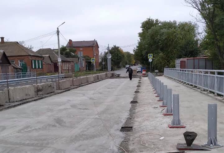 Мост на улице Шевченко готовят к укладке асфальта