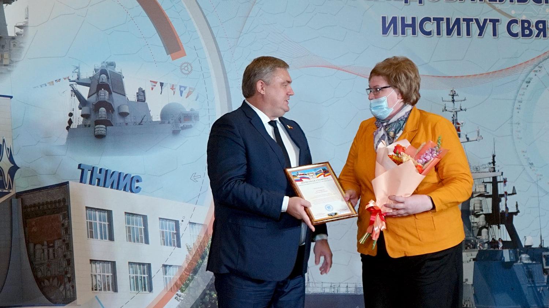 Таганрогский НИИС поздравили с 60-летием