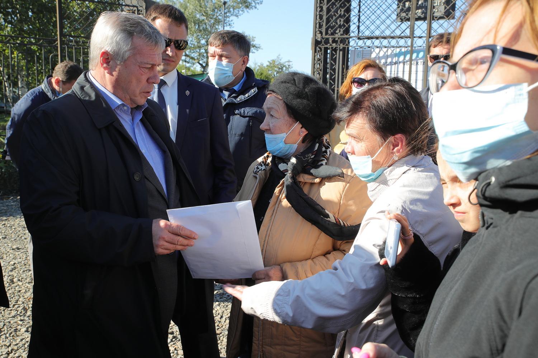 Парк 300-летия Таганрога: реконструкция продолжается