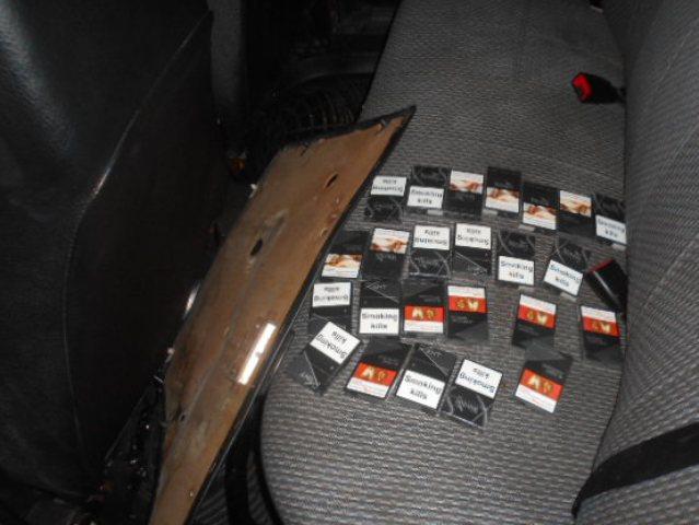 Тайник с сигаретами нашли донские таможенники в автомобиле